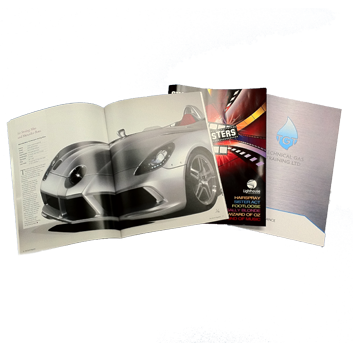 Brochures & Booklets commercial print & private printing service automated personalisation, print finishing local delivery Bournemouth Poole Ferndown Wimborne Dorset
