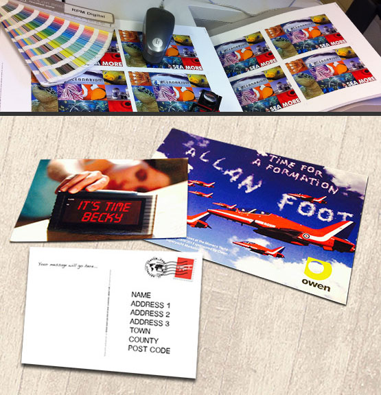 Digital Print Services commercial print & private printing automated personalisation, print finishing local delivery Bournemouth Poole Ferndown Wimborne Dorset